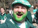 This green beard is a pretty good dye job.